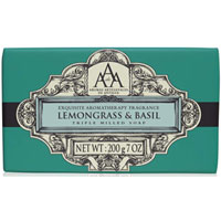 Aromas Artesanales de Antigua - Lemongrass & Basil Triple Milled soap