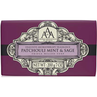 Aromas Artesanales de Antigua - Patchouli Mint & Sage Triple Milled Soap