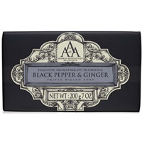 Aromas Artesanales de Antigua - Black Pepper & Ginger Triple Milled Soap