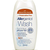 Allergenics - Wash Face & Body Shower Gel