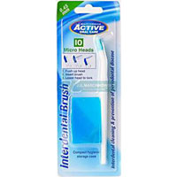 Active Oral Care - Interdental Brush + 10 micro heads