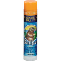 Badger - Tangerine Breeze Lip Balm