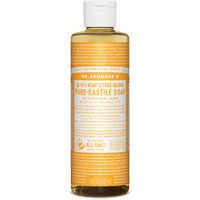 Dr. Bronner's - 18-in-1 Hemp Citrus Orange Pure Castile Soap