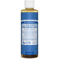 Dr. Bronner's - 18-in-1 Hemp Peppermint Pure Castile Soap