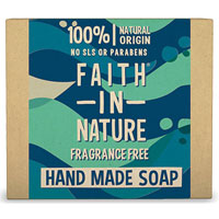 Faith In Nature - Unfragranced Hand Made Soap with Seaweed