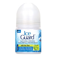Ice Guard - Natural Crystal Rollerball Deodorant - Tea Tree