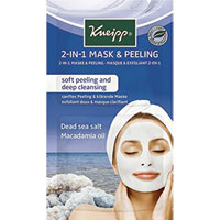 Kneipp - 2-in-1 Mask & Peeling - Dead Sea Salt & Macademia Oil