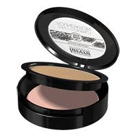 Lavera - 2 in 1 Compact Foundation - Honey 03