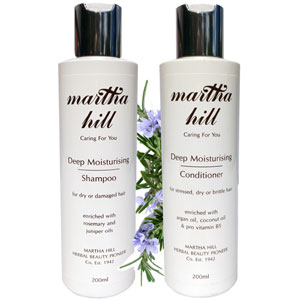 Martha Hill - Deep Moisturising Hair Care Duo