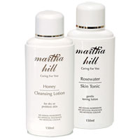 Martha Hill - Honey Skin Care Cleansing Duo