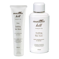 Martha Hill - Soothing Skin Care Duo (Skin Relief & Tonic)