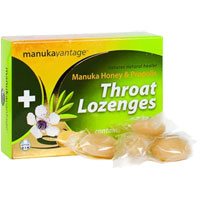 ManukaVantage - Manuka Honey & Propolis Throat Lozenges