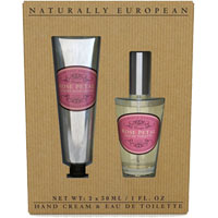 Naturally European - Rose Petal Hand Care & Fine Fragrance Collection