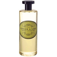 Naturally European - Ginger & Lime Luxury Shower Gel