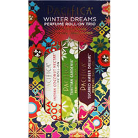 Pacifica - Winter Dreams Perfume Roll-On Trio