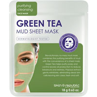 Skin Republic - Green Tea Mud Sheet Mask