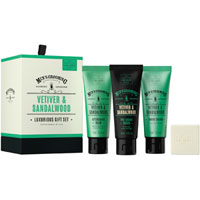 Scottish Fine Soaps - Vetiver & Sandalwood Luxurious Gift Set