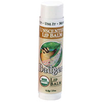 Badger - Unscented Lip Balm