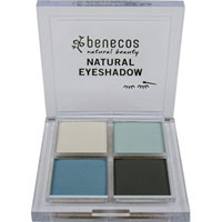 Benecos - Natural Quatro Eyeshadow - True Blue