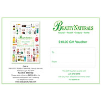 Beauty Naturals - Beauty Naturals Gift Voucher - £10