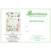 Beauty Naturals - Beauty Naturals Gift Voucher - £20