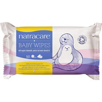 Natracare - Natracare Organic Cotton Baby Wipes