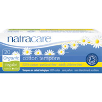 Natracare - Organic Cotton Tampons - Regular