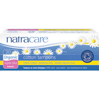Natracare - Organic Cotton Tampons - Super Plus