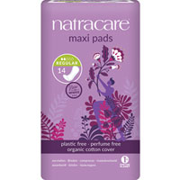 Natracare - Natural Maxi Pads - Regular