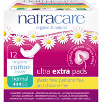 Natracare - Ultra Extra Pads - Regular
