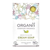 Organii - Cream Soap - Green Tea & Lime